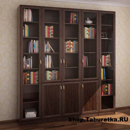 Шкаф купе библиотеку