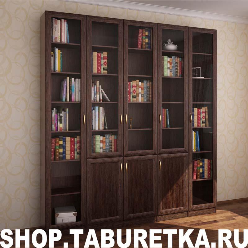 Книжный шкаф, 5 секций