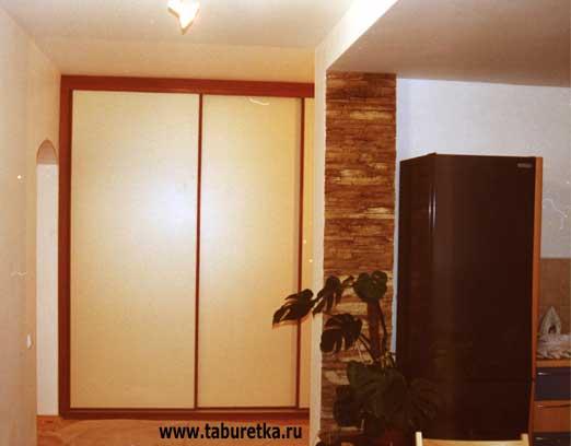 проекты шкафов купе в коридор фото