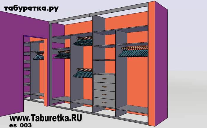 Pixaz каталог: шкафы купе в прихожую внутреннее наполнение.
