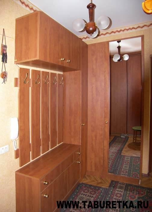 Мебель в прихожей в квартире