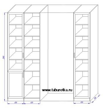 Схема построения книжных